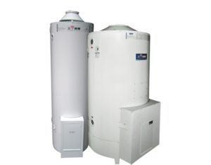 Commercial type hot water boiler
