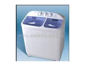 Double barrel washing machine