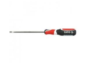 Tricolor handle screwdriver - word