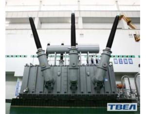 The site-assemble transformer with the type of OSFPS-750MVA-500kV