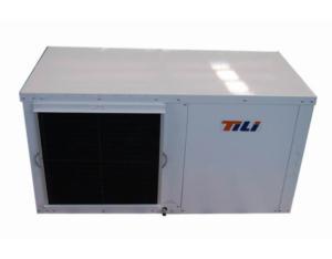 Horizontal water source heat pump