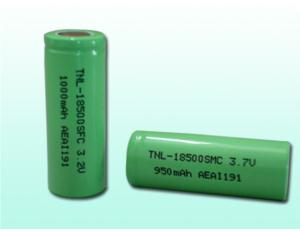 18500 cylindrical Li-ion cells
