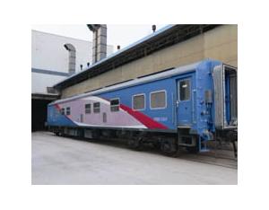 Narrow-gauge passenger - power car