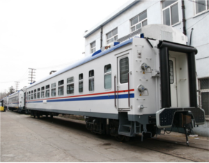 Turkmenistan soft sleeper car