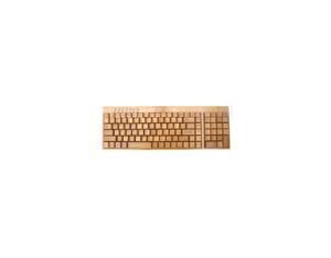 KG201-N Bamboo wireless multimedia keyboard