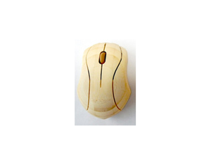 Whole bamboo wireless mouse