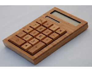 CS18-N the bamboo Solar Calculator (flat type)