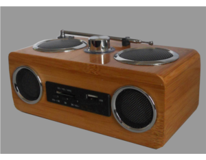SR50-N bamboo speakers (with FM)