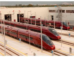 AGV .italo at the maintenance center of Nola �Alstom Transport - C.Sasso