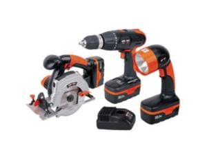 18V 3-Piece Cordless Combo Kit