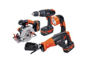18V 4-Piece Cordless Combo Kit