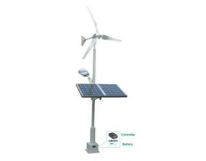 OFF-GRID WIND&SOLAR HYBRID STREET LAMP SYSTEM
