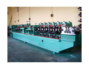 High-frequency welded pipe forming machine