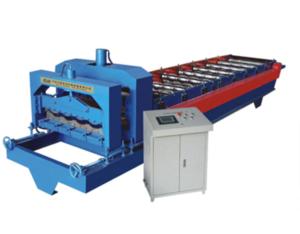 828 arc glazed tile roll forming machine