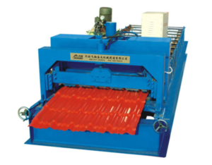 1000 glazed tile roll forming machine