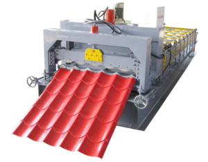 1025 glazed tile roll forming machine