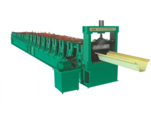 Large span of color steel girder arch pressure equipment