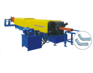 To downspouts forming equipment and elbow machine