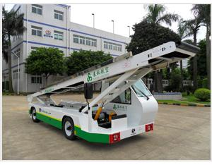 Model TK-XC Conveyor Belt Loader Vehicle