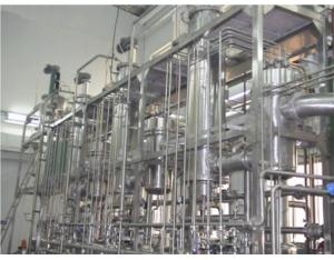 A thin film evaporation three molecular distillation equipment