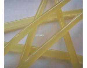 Translucent glue stick