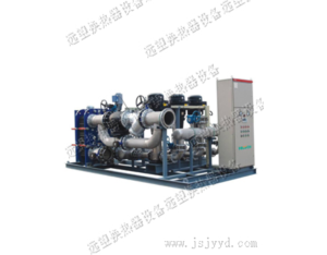 Efficient smart plate heat exchanger unit