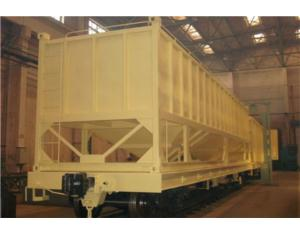 Model XL container hopper wagon for food