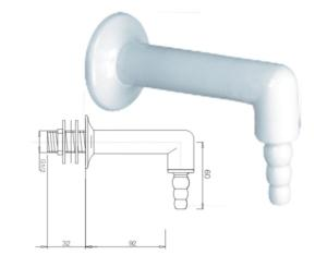 PANEL MOUNTED,REMOTE CONTROL OUTLET:WATER(KA10-3)