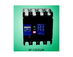NF-125SS/4P Series Moulded Case Circ