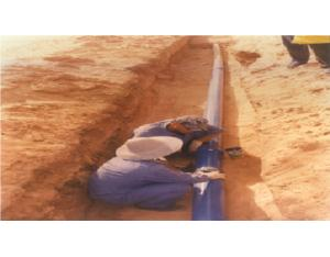 Spot of Aided water supply project from Maradi to Thiberg in Niger