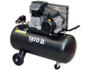 Oil type piston compressor