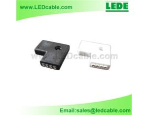 RGB LED Flexible Strip L Type Connector