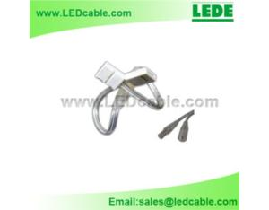 Waterproof 2 Pins Connector with Solderless Connector For LED Strip
