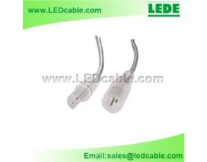 2 Pin Waterproof Power Cable For LED Light Strip