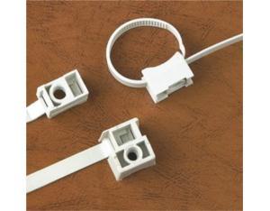 Saddle mounting ties