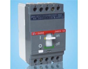 Plastic shell circuit breaker DAM1-125-3P