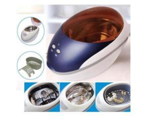 Ultrasonic cleaning device SU726
