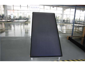 Flat-plate solar collector