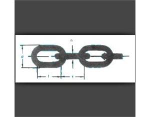 A8.DIN 5685 A/C short/long link chain