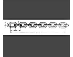 A10.DIN 764 link chain