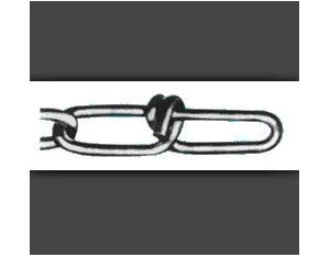 B1.USA standard double loop chain