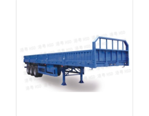 13 m triaxial fence semi-trailer to move to lose the car HSD9390TLP
