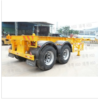 20 feet biaxial skeleton semi-trailer truck HSD9280TJZG