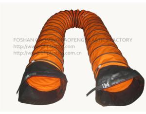 PVC coated flexible air duct