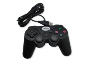 PC/PS3 WIRED VIBRATION GAME CONTROLLER FTQ8B2