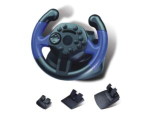PS3/PC/XBOX360 3IN1 STEERING WHEEL with vibration FT37D1