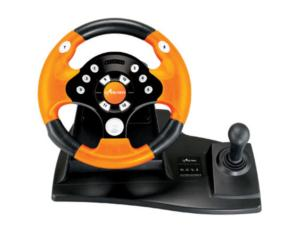 PC-USB WIRED VIBRATION STEERING WHEEL FT329D