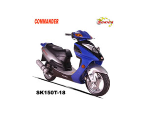 SK150T-18 Scooter