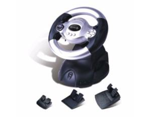 PS3/PS2/PC 3IN1 WIRED VIBRATION STEERING WHEEL FT31C3