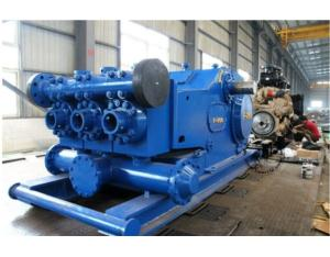 800HP China Made Triplex Mud Pumps Unitized With Commins Diesel Engine
